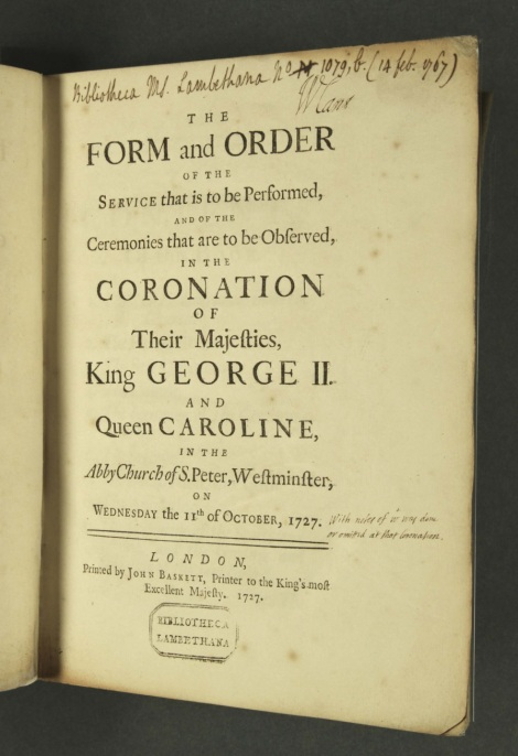 Annotated Coronation Service