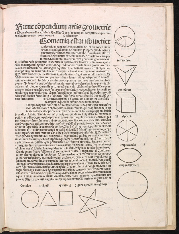 A page from Geometria Spectulative