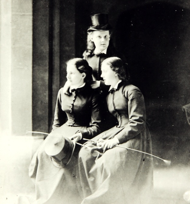 Agnes Tait and her sisters