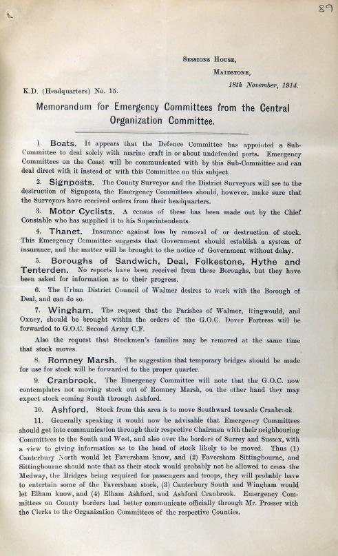 Davidson 376 f.89, Anti- invasion guidelines