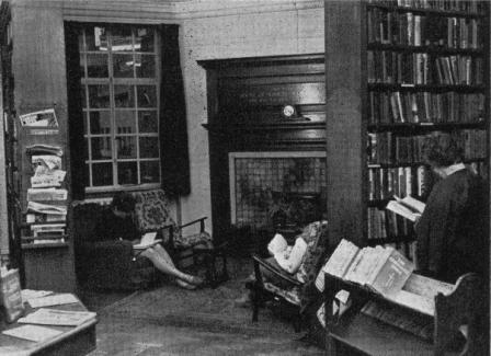 The Lending Library at Mary Sumner House
