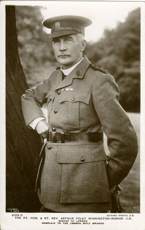 Bishop Winnington-Ingram in uniform