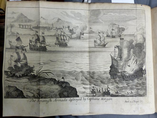Sea battle against Spanish Armada [B85.0/ES6(2)]
