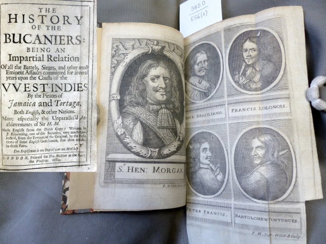 The history of the bucaniers, 1684 [B85.0/ES6(1)