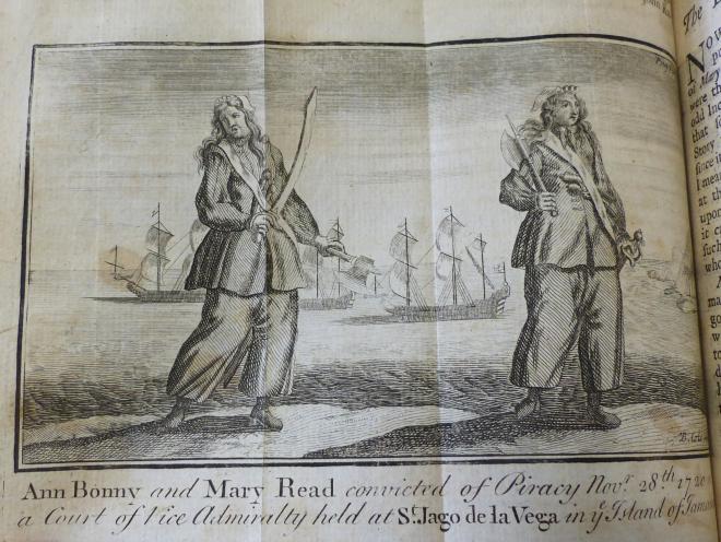 Ann Bonny & Mary Read, most famous female pirates [B82.3/J62]