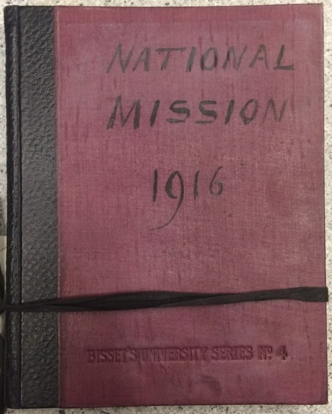 national mission notebook 1