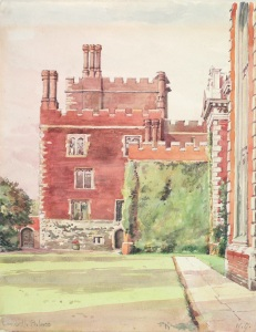 Watercolour of Lambeth Palace