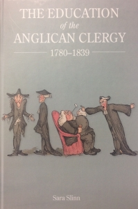 Education of Anglican clergy cover