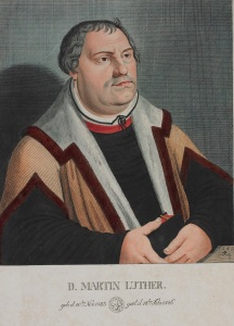 Martin Luther print