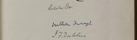 Lambeth Conference autograph book 1908