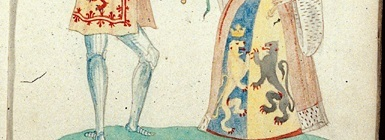 James II and Marie of Guelders, fol. 12r.