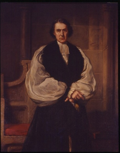 Archbishop Archibald Tait, Lambeth Palace portrait by Sidney Hodges