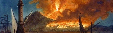Vesuvius from the Mole of Naples, 20th October 1767