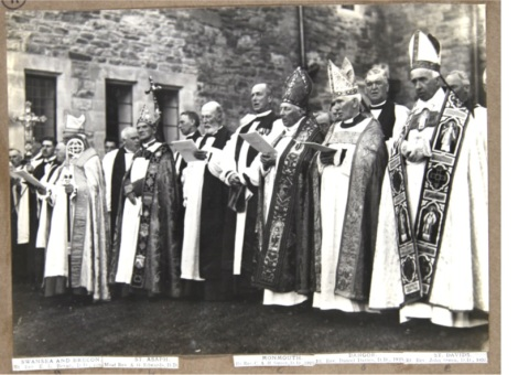 The Archbishop and Bishops of the Church in Wales, 1920 (MS 4701 p. 11